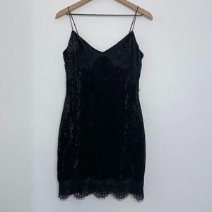 Guess 'SL Nada' Velvet Dress